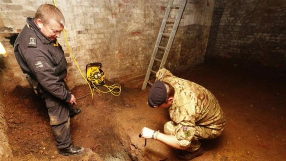 World War Two bomb found in London