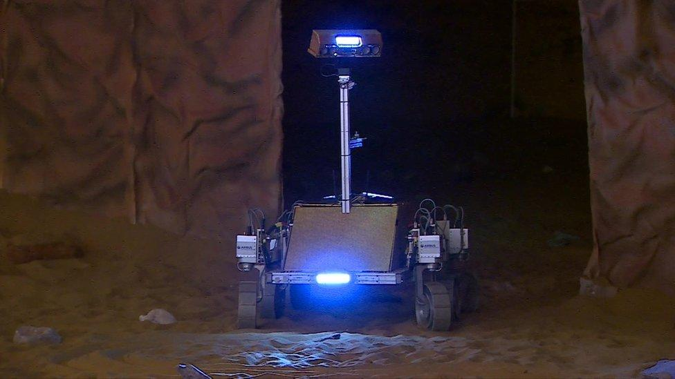 Tim Peake tackles tricky rover experiment