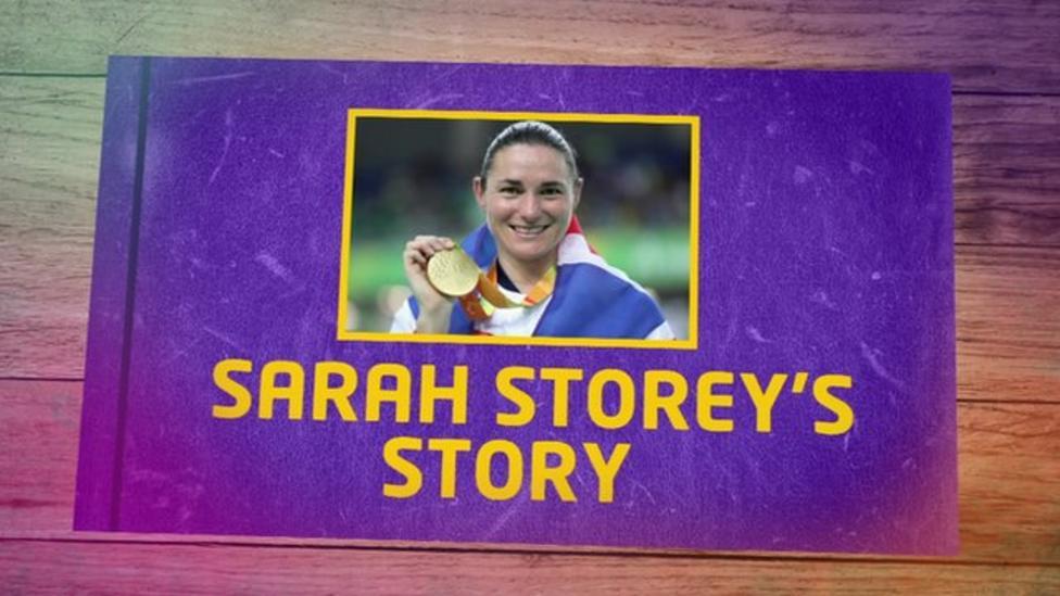 Para cyclist Dame Sarah Storey's story