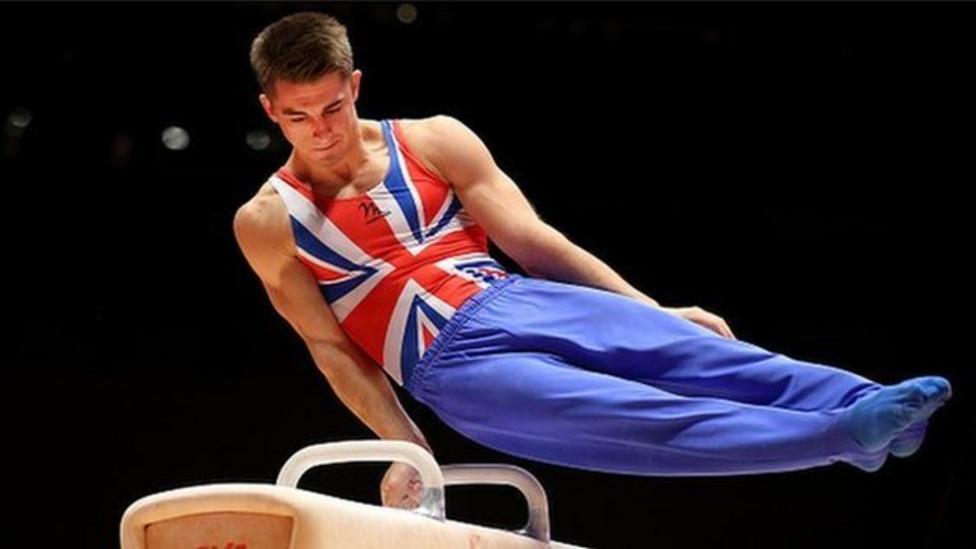 Gymnastics Champion Max Whitlock talks to NR