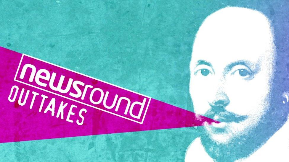 Newsround outtakes - Fun with Shakespeare