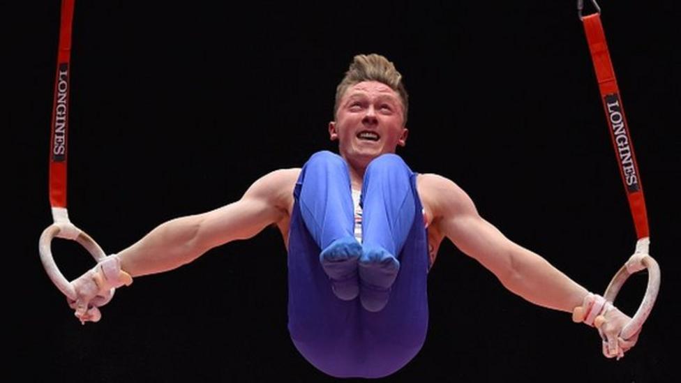 GB men's gymnastics team win silver