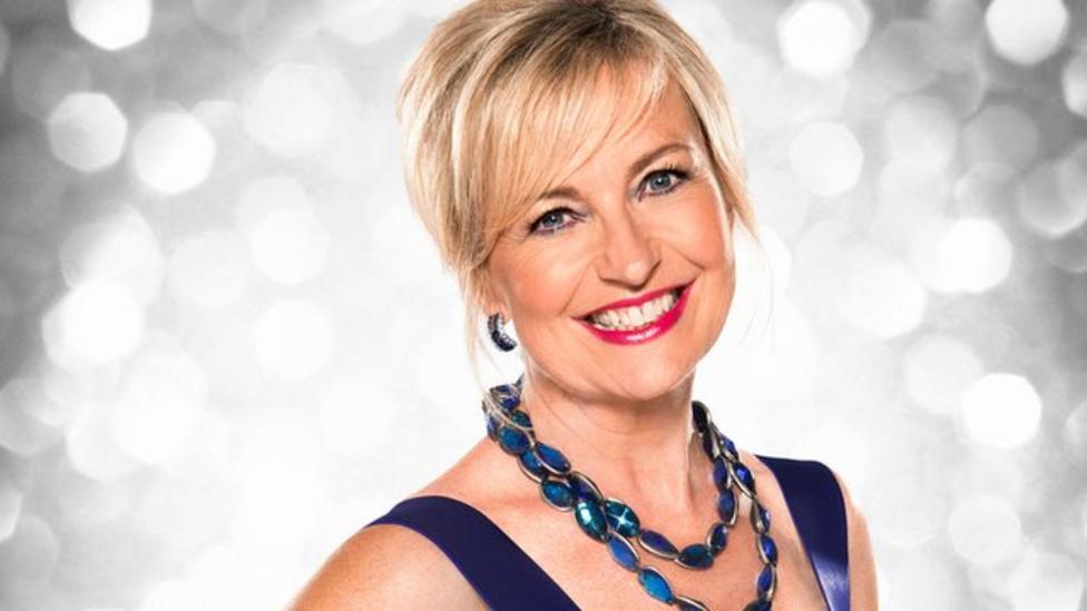 Carol Kirkwood announced on Strictly