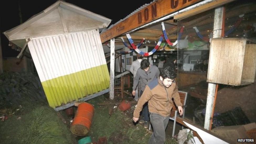 Powerful earthquake hits Chile