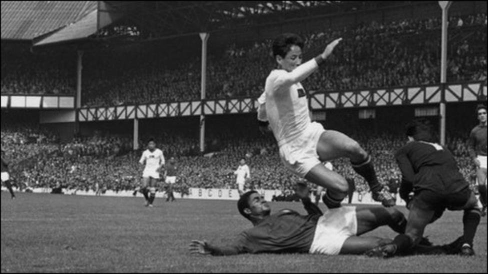 Image result for 1966 fifa portugal world cup eusebio