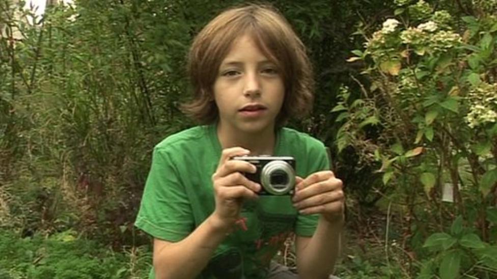 8-year-old boy wins wildlife award
