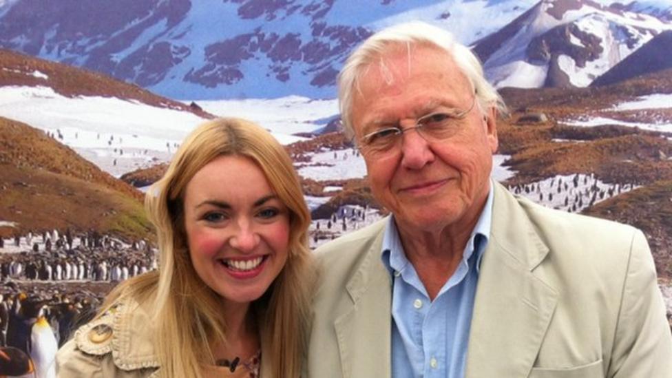 Hayley meets David Attenborough