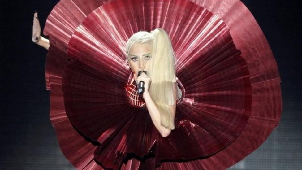 Lady Gaga steals the show at MTV Awards