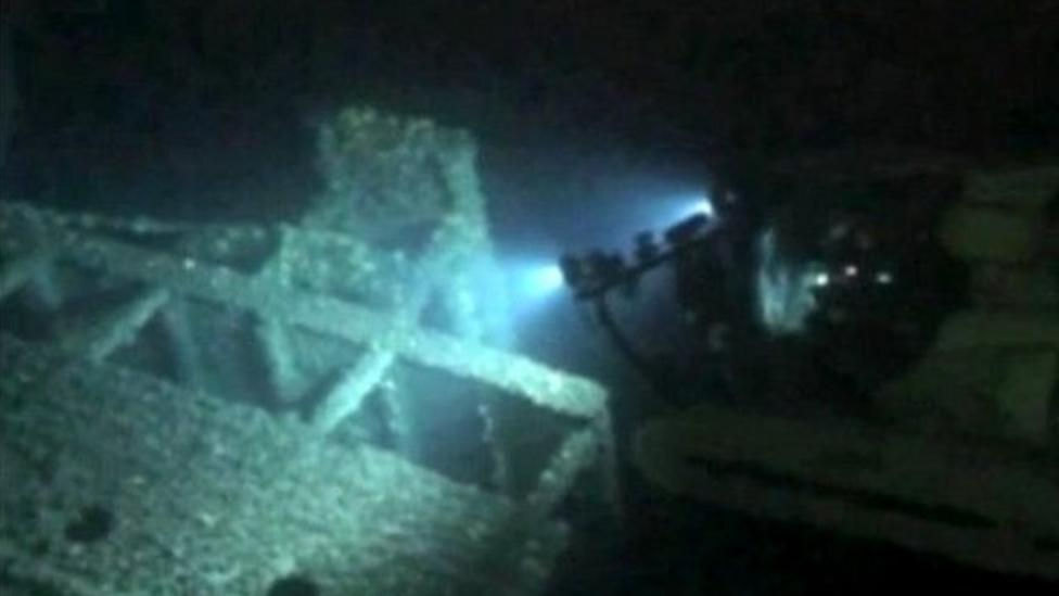 Explorers dive for ocean treasure