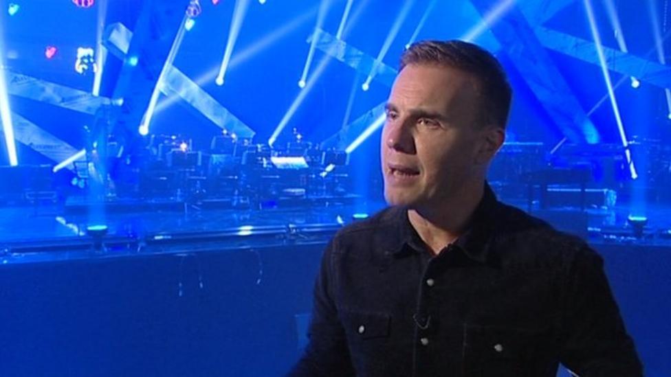 Gary Barlow clip