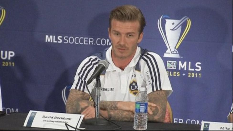 Beckham comments