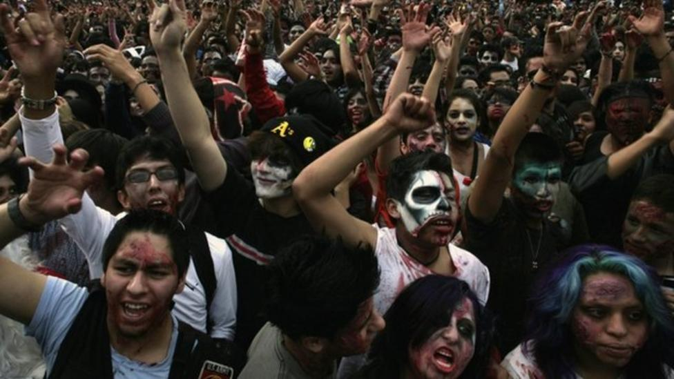 Zombies take over Mexico City