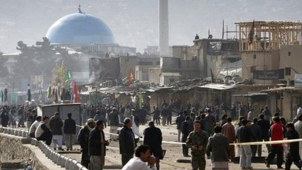 Bomb attacks hit Afghanistan
