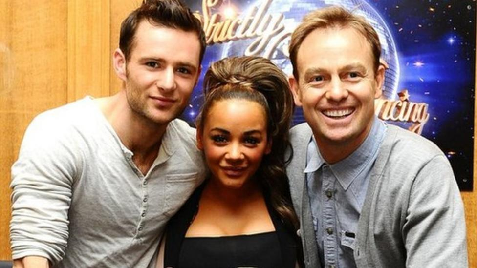 Backstage preview of Strictly final