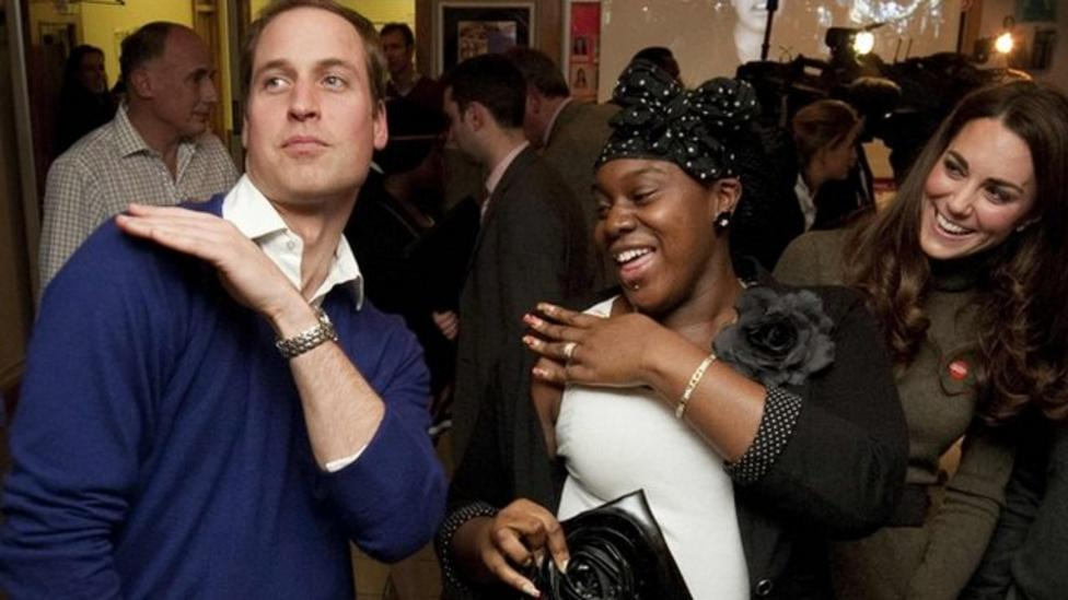 Prince William shows off dance moves