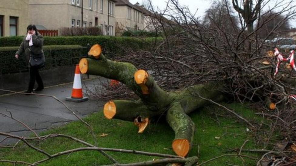 How the bad weather is affecting the UK