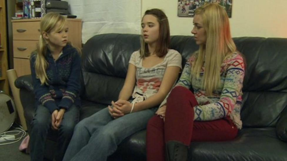 Hayley meets families struggling with money problems