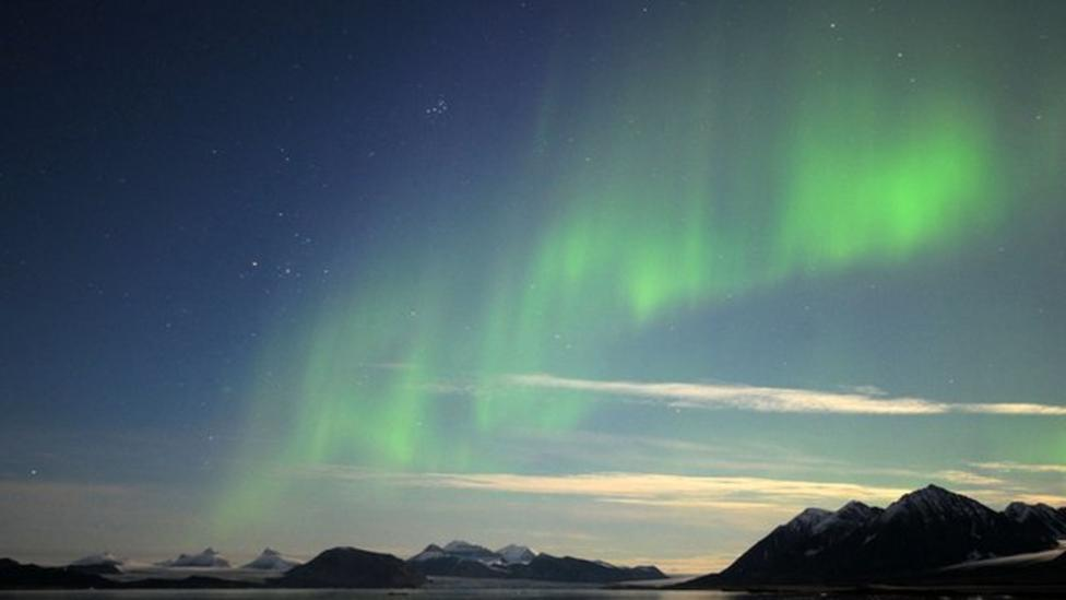 How do the Northern Lights happen?