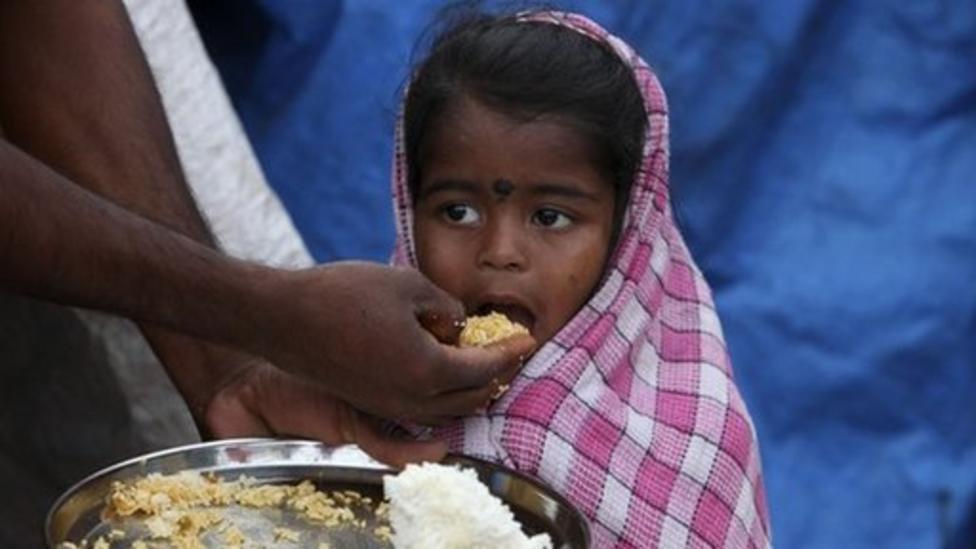 '500 million' kids at hunger risk