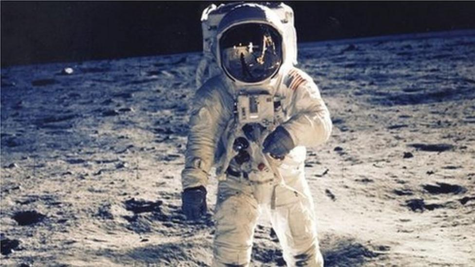 Archive moon footage