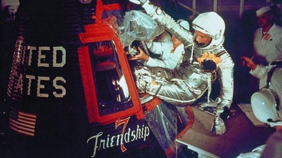 50 yrs since first US Earth orbit