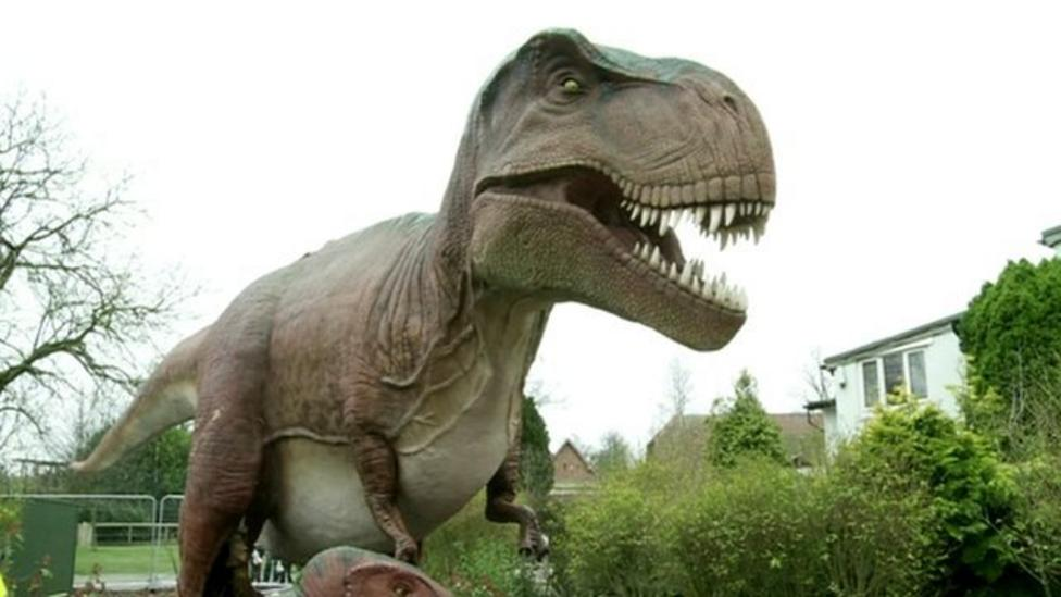 Dinosaurs move into Chester Zoo!