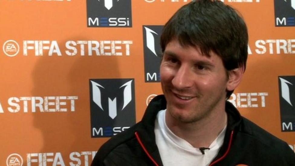 Messi reveals his Premier League idols