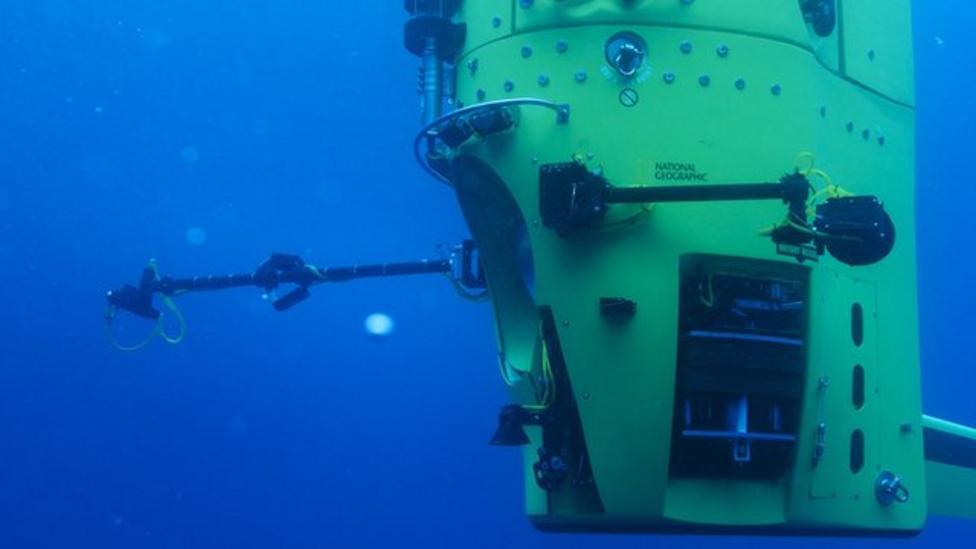 James Cameron's deep-sea adventure