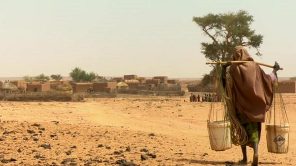 Efforts to stop famine in Niger