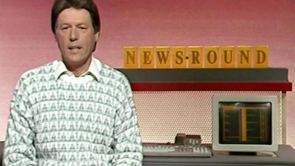 Newsround gets its first computer