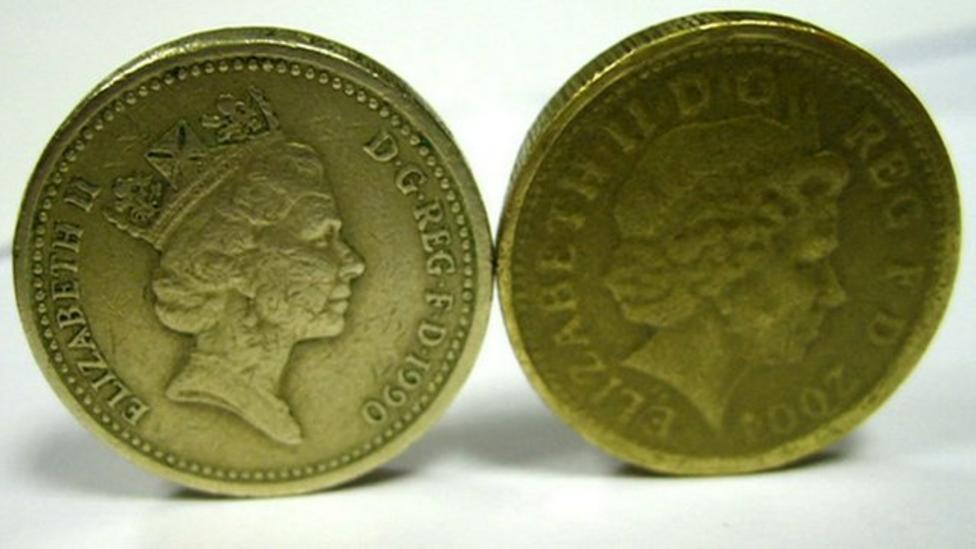 Fake pound coins on the increase