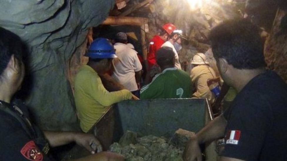Peru miners freed after six days