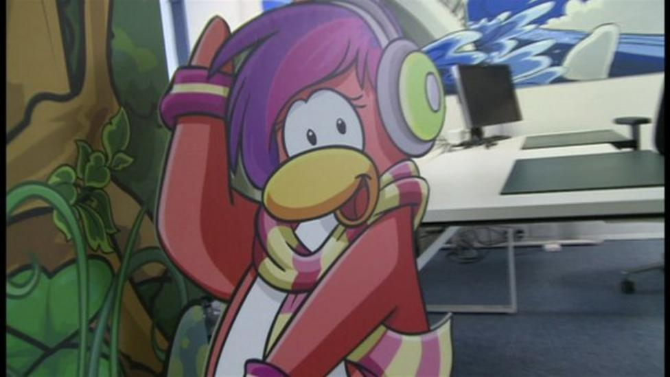 Behind the scenes at Club Penguin