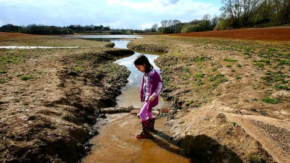 Half of Britain hit by drought