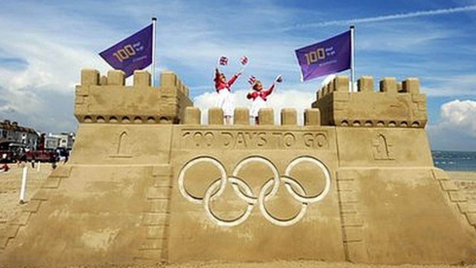 100 days until London's Olympics