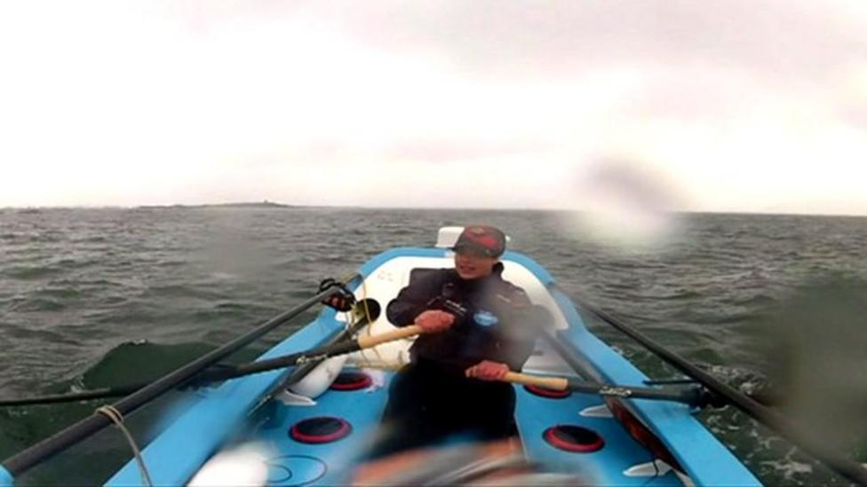 Sarah's rowing challenge