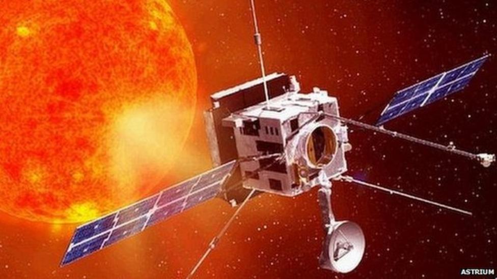 Sun satellite to be built in UK