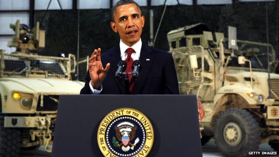 Obama says war is to end