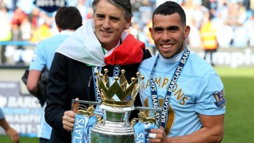 A look at Manchester City's journey to the top