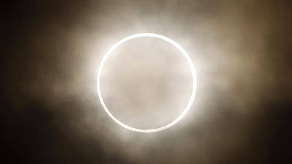 Millions watch Pacific eclipse