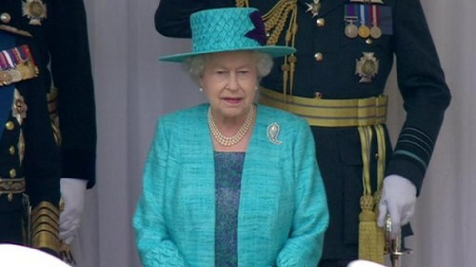 How the Queen's reign began