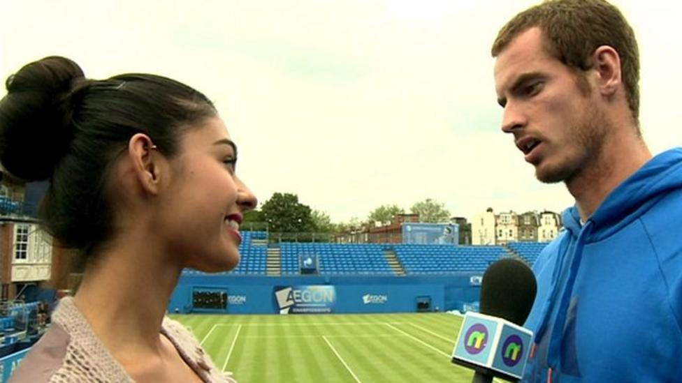 Wimbledon is 'intense' - Murray