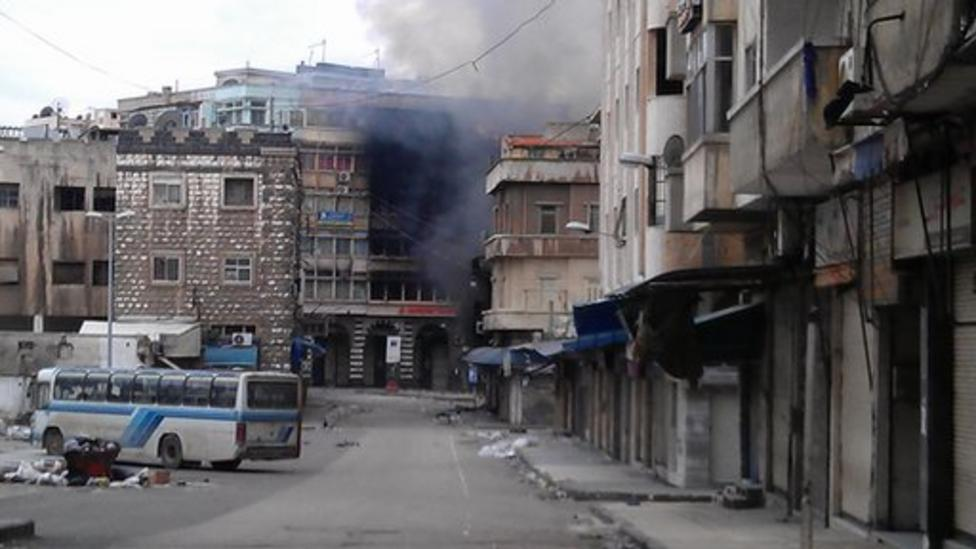 Syrian kids speak of life in Homs