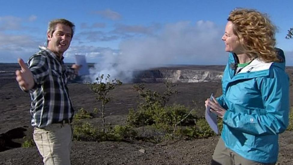 BBC launch Volcano Live programme from Hawaii