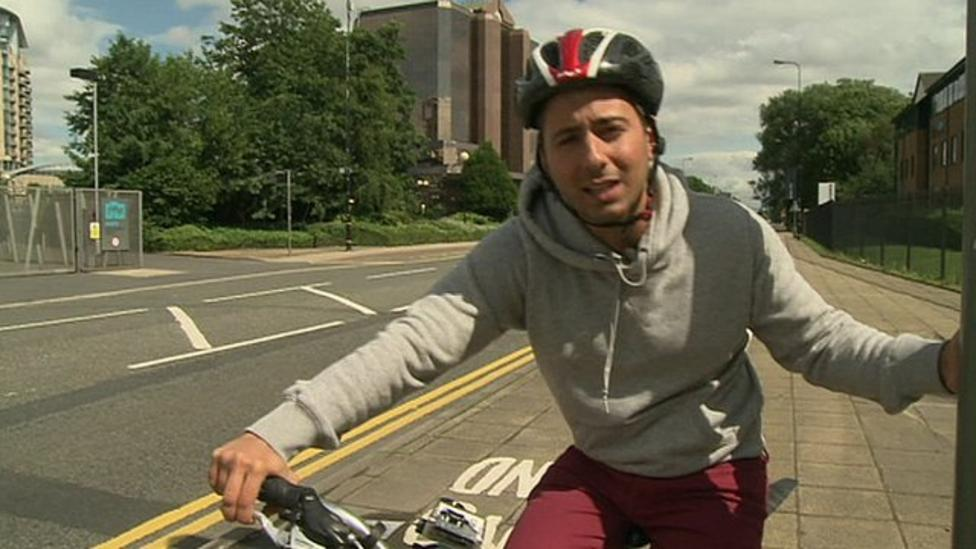 More cycling accidents on the roads