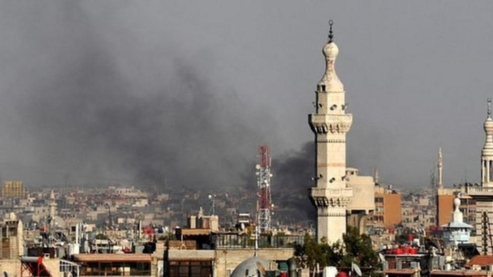 President's security chiefs killed in Syria
