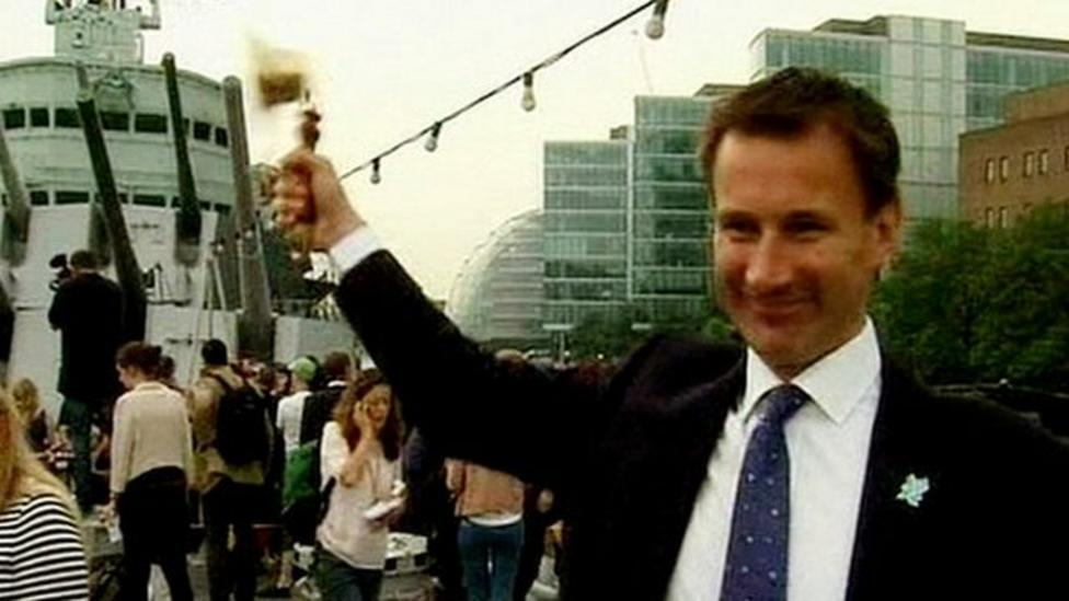 Politician's Olympic bell clanger