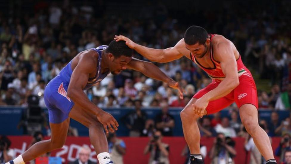 8a089b03fde9d4 Olympics wrestling  Jordan Burroughs wins gold for USA - BBC Sport