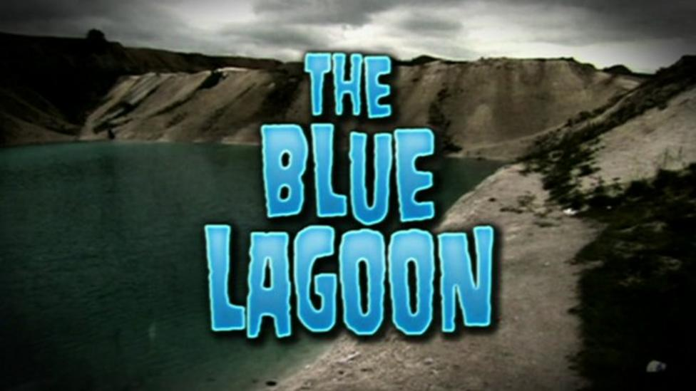 Hayley visits the toxic lagoon