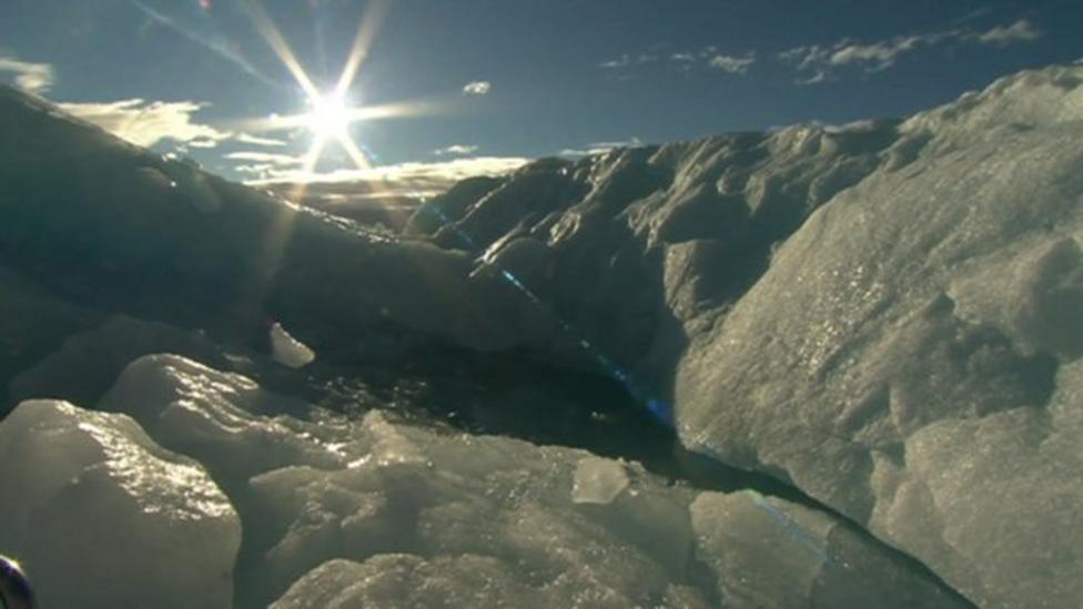 Record Arctic ice melt 'a trend'